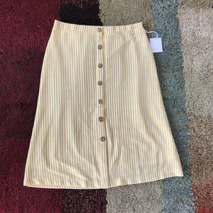 Lauren Conrad Knit Skirt L